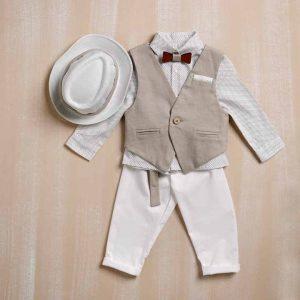 Βαπτιστικά ρούχα για αγόρι bellissimo